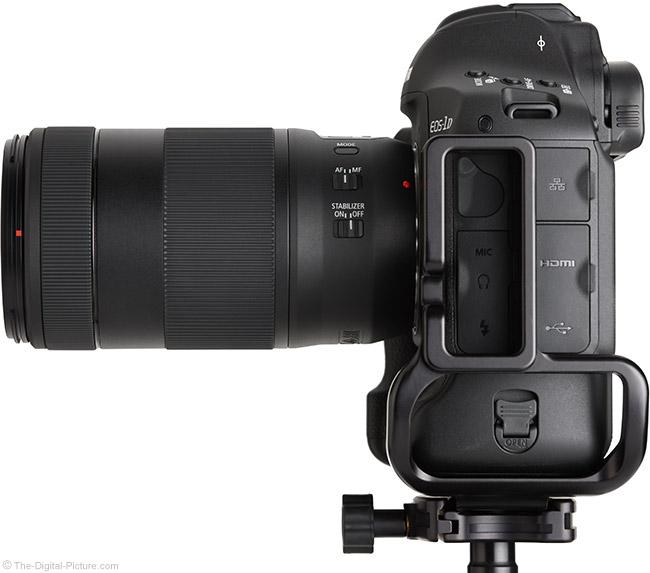 Canon EF 70-300mm f/4-5.6 IS II USM Lens Side