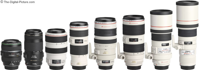 Telephoto Zoom Lens Comparison