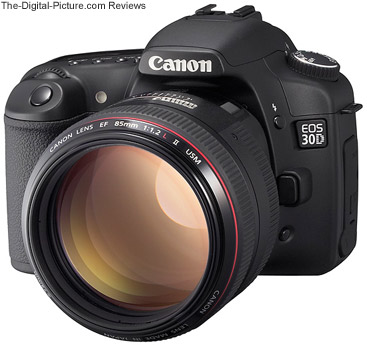 85 f/1.2 L II mounted on a Canon 30D DSLR Camera