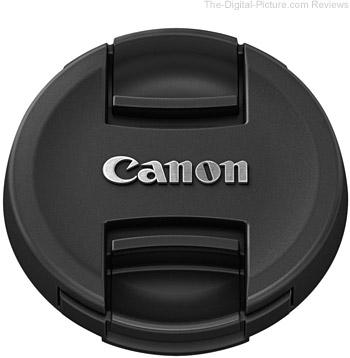 Canon EF-M 22mm f/2 STM Lens E-43 Lens Cap