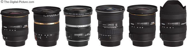 Tokina 11-16mm f/2.8 AT-X Pro DX Lens Compared to Other Ultra-Wide Angle Zoom Lenses