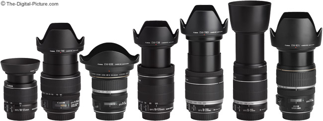18-55 IS II and the rest of the Spring 2011 Canon EF-S Lenses