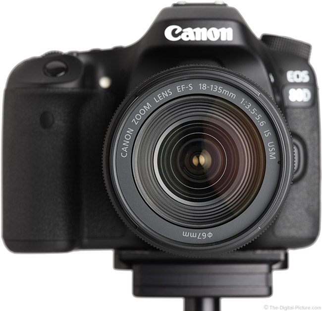 Canon EF-S 18-135mm IS USM Lens Front View