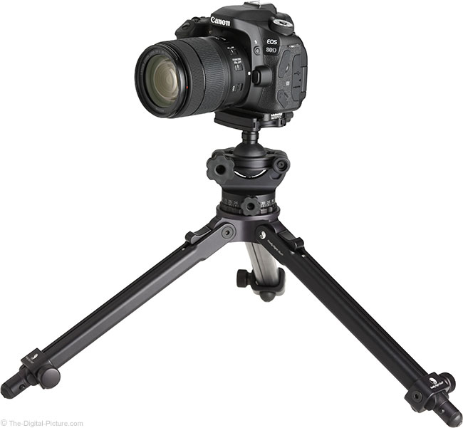 Canon EF-S 18-135mm IS USM Lens on Tripod