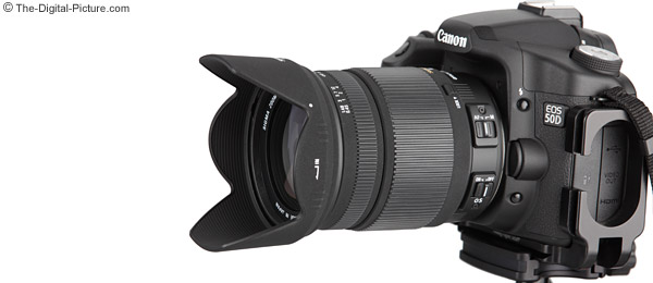 Sigma 18-250mm f/3.5-6.3 DC OS HSM Lens and Super Zoom Lens Comparison