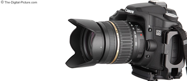 Tamron 18-200mm f/3.5-6.3 XR Di II Lens and Super Zoom Lens Comparison