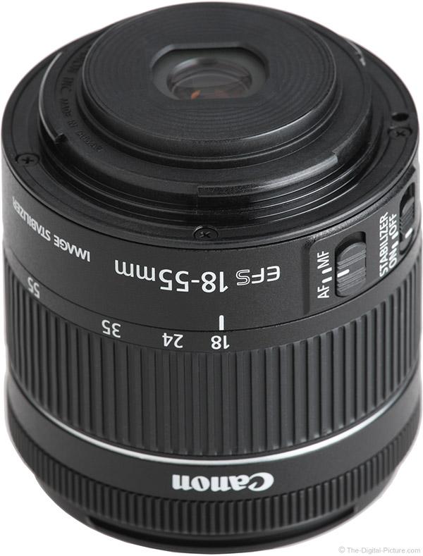 Canon EF-S 18-55mm f/4-5.6 IS STM Lens Mount