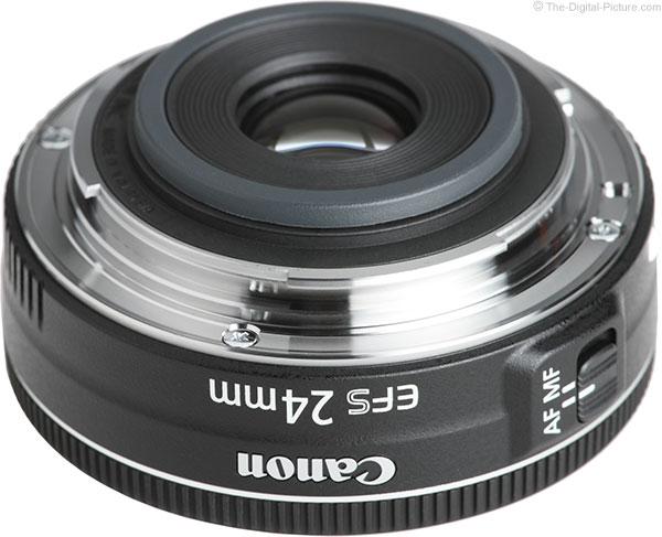 Canon EF-S 24mm STM Lens Mount