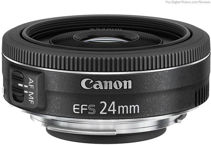 Resolution Chart Results for the Canon EF-S 24mm f/2.8 STM Lens