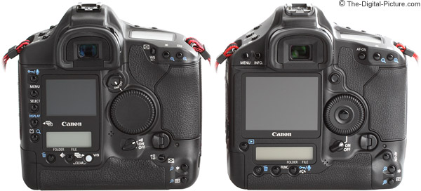 Canon EOS-1D Mark III and 1Ds Mark II DSLR Camera Comparison