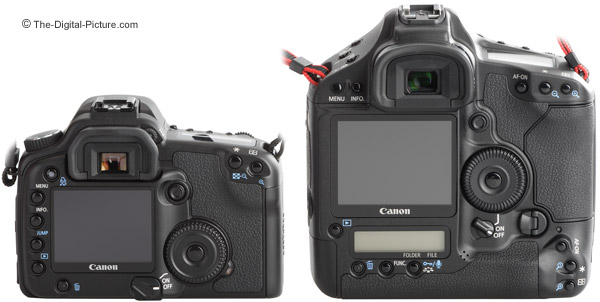 Canon EOS-1D Mark III and 30D DSLR Camera Comparison