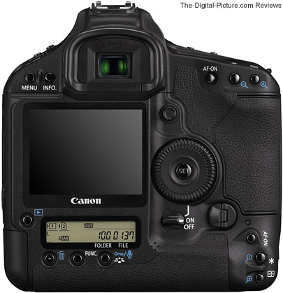 Canon EOS 1D Mark III Digital SLR Camera - Back View