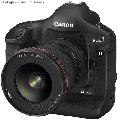 Canon EOS 1D Mark III Digital SLR Camera with Canon EF 16-35mm f/2.8 L II USM Lens