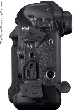 Canon EOS 1D Mark IV Side View