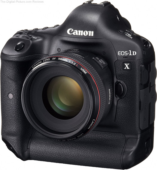Canon EOS 1D X Front