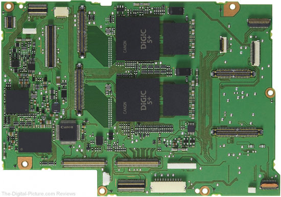 Processor Board with Dual DIGIC 5+ Processors