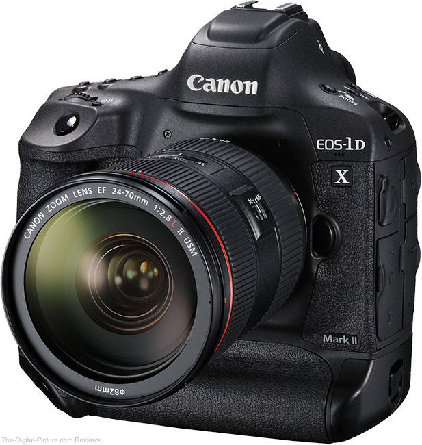 Noise and Resolution Test Results for the Canon EOS-1D X Mark II