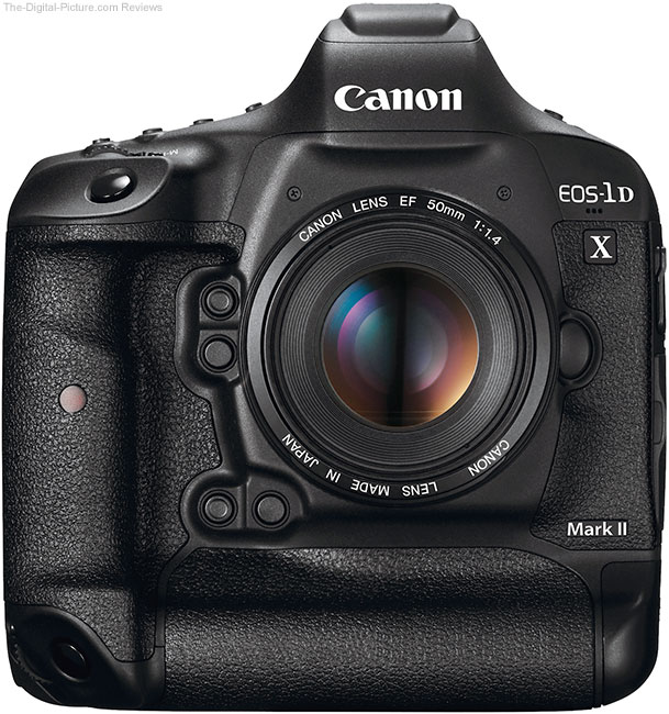 Canon EOS-1D X Mark II Front View