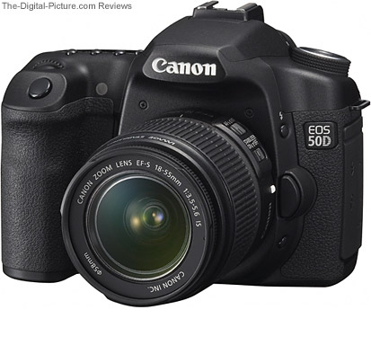 18-55 IS Mounted on Canon EOS 5D - Comparison