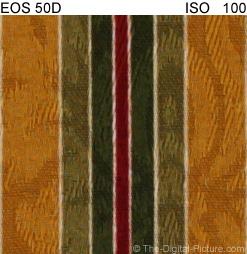 50D ISO Comaprison