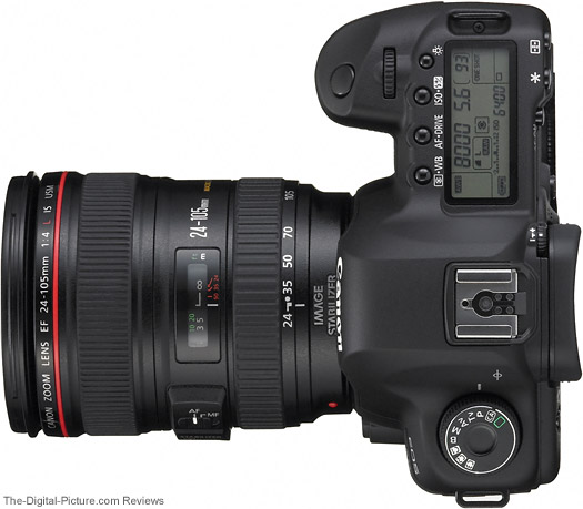 5D II with a Canon EF 24-105mm Lens Mounted