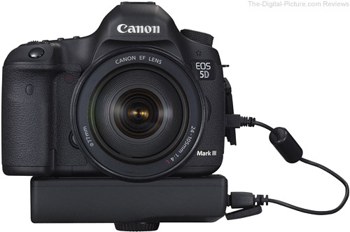 Canon EOS 5D Mark III with WFT-E7 Wireless File Transmitter