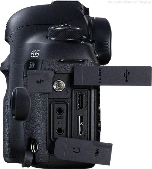 Canon EOS 5D Mark IV Ports