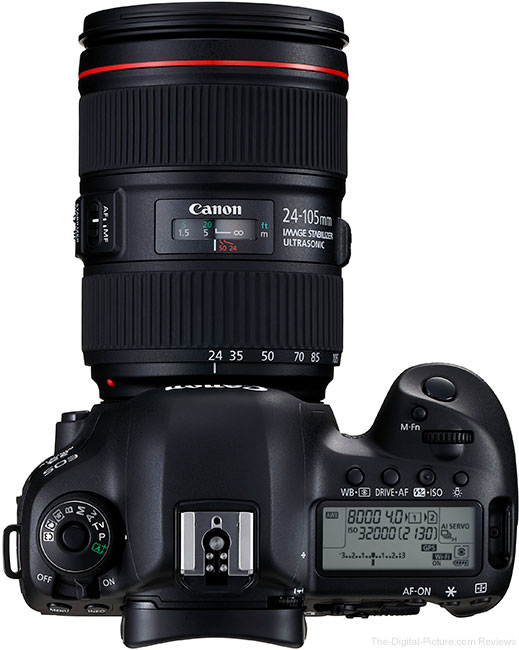 Canon EOS 5D Mark IV with EF 24-105mm f/4L IS II USM Lens