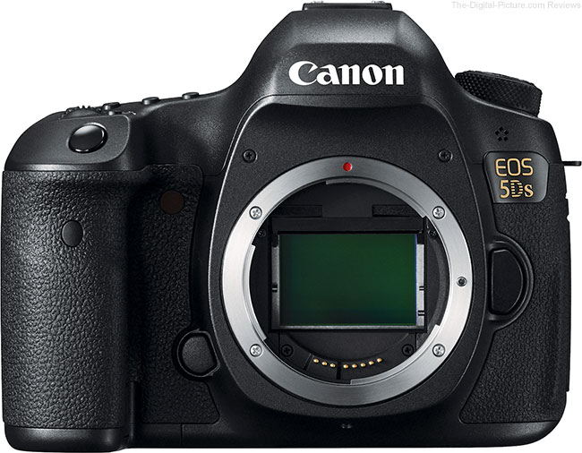 Canon EOS 5Ds – Front View without Lens