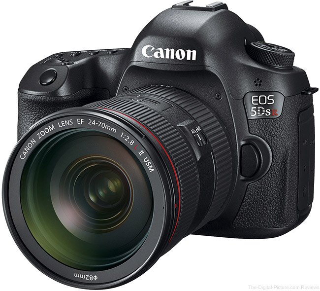 Canon EOS 5Ds R, 5Ds and 5D Mark III Comparison