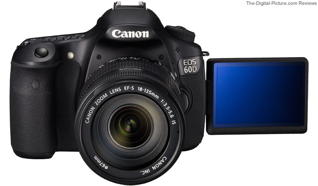 60D Flip Out LCD Demonstration