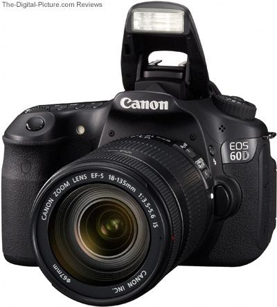 Canon EOS 60D with Flash Up