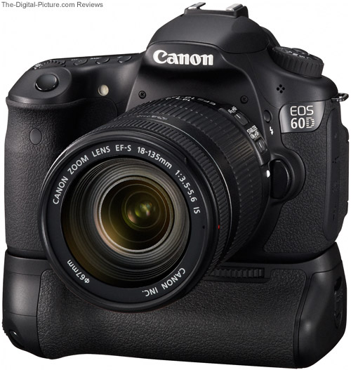 60D with Canon BG-E9 Battery Grip