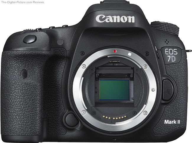 Canon EOS 7D Mark II Front without Lens