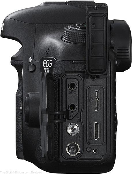 Canon EOS 7D Mark II Ports