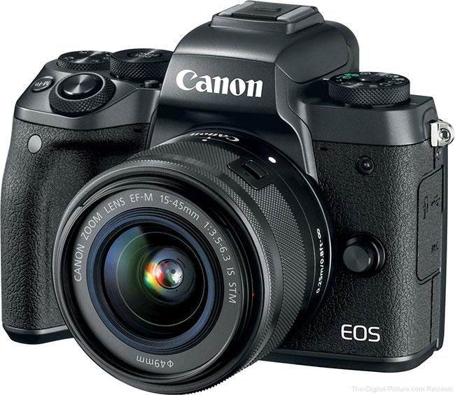 Canon EOS M5 Angle