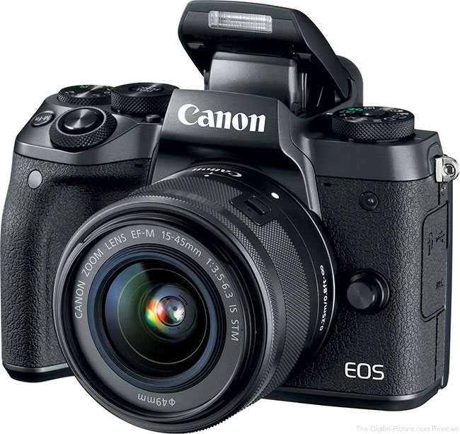 Canon EOS M5 Flash Up