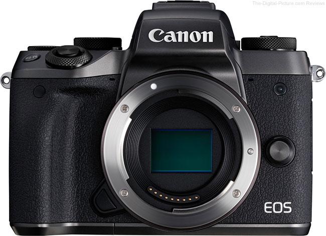 Canon EOS M5 No Lens