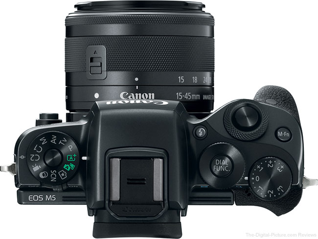 Canon EOS M5 with EF-M 15-45mm Lens
