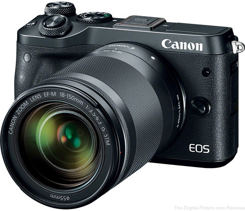 Canon EOS M6 with EF-M 18-150mm f/3.5-6.3 IS STM Lens