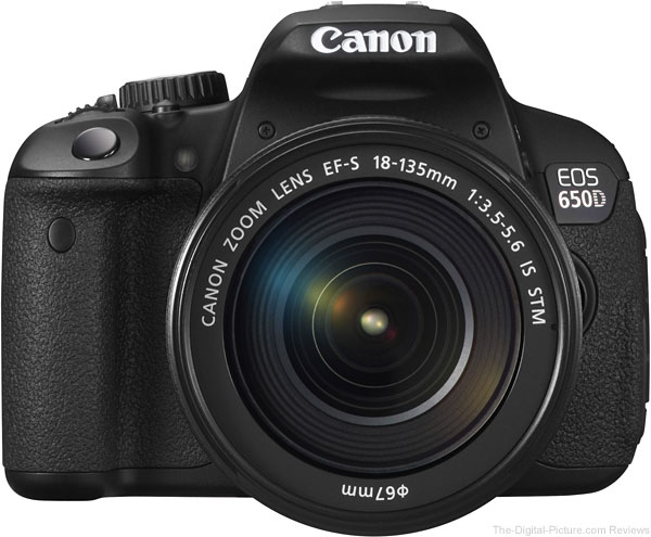 Canon EF-S 18-135mm f/3.5-5.6 IS STM Lens Mounted on Canon EOS Rebel T4i