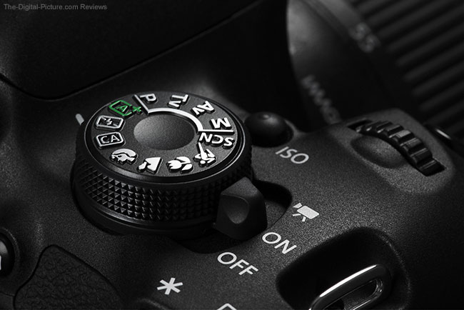 Canon Rebel T5i Mode Dial