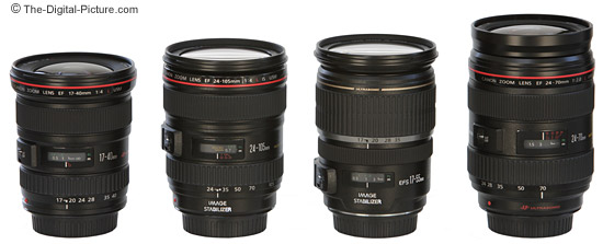 Canon Zoom Lens Size Comparison