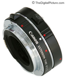 Canon and Kenko Extension Tubes - Attached