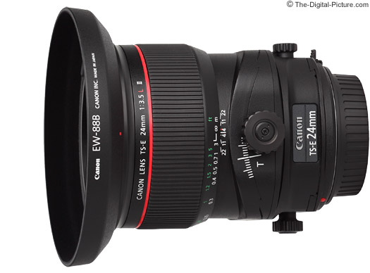 Canon TS-E 24mm f/3.5 L II Tilt-Shift Lens Comparison