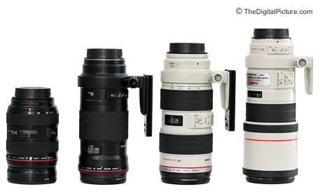 Canon Telephoto L Lens Comparison