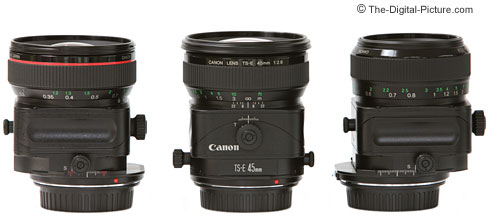 Canon Tilt-Shift Lenses Shifted