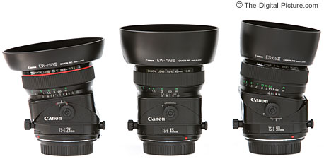 Canon Tilt-Shift Lenses Tilted