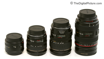 Canon Lens Comparison