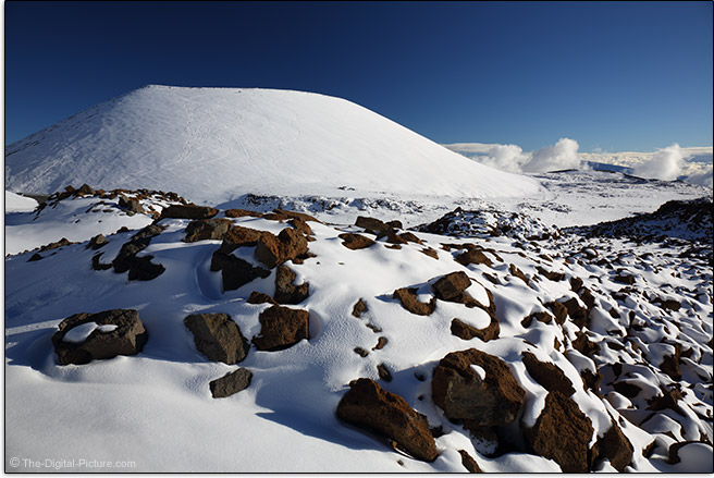 Mauna Kea with Circular Polarizer Filter
